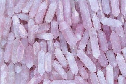 Cuarzos rosados