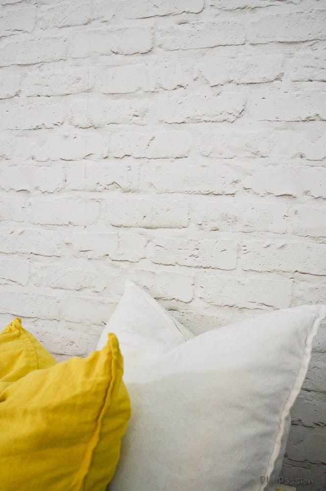 How To Install White Brick Wallpaper White Brick Wallpaper Brick Wall Faux Brick Wallpaper