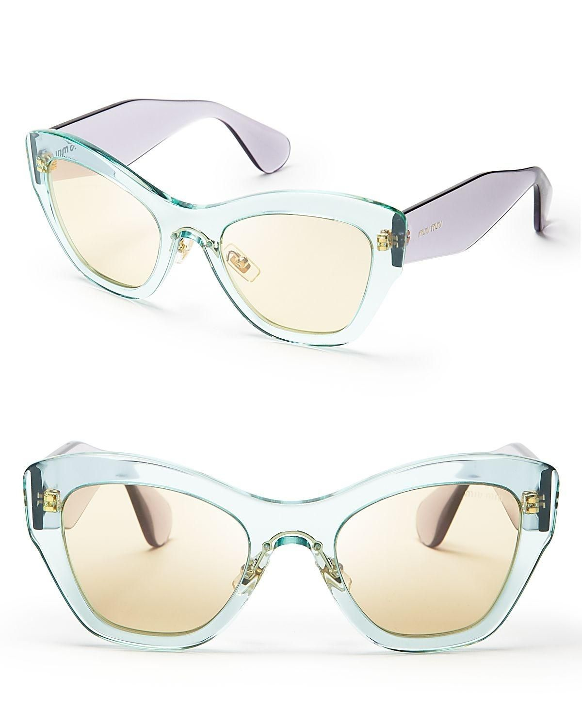 0cb3bf0f9a Free shipping and guaranteed authenticity on Transparent Light Green  Sunglasses at Tradesy. Beautiful Light green and purple transparent sungl.