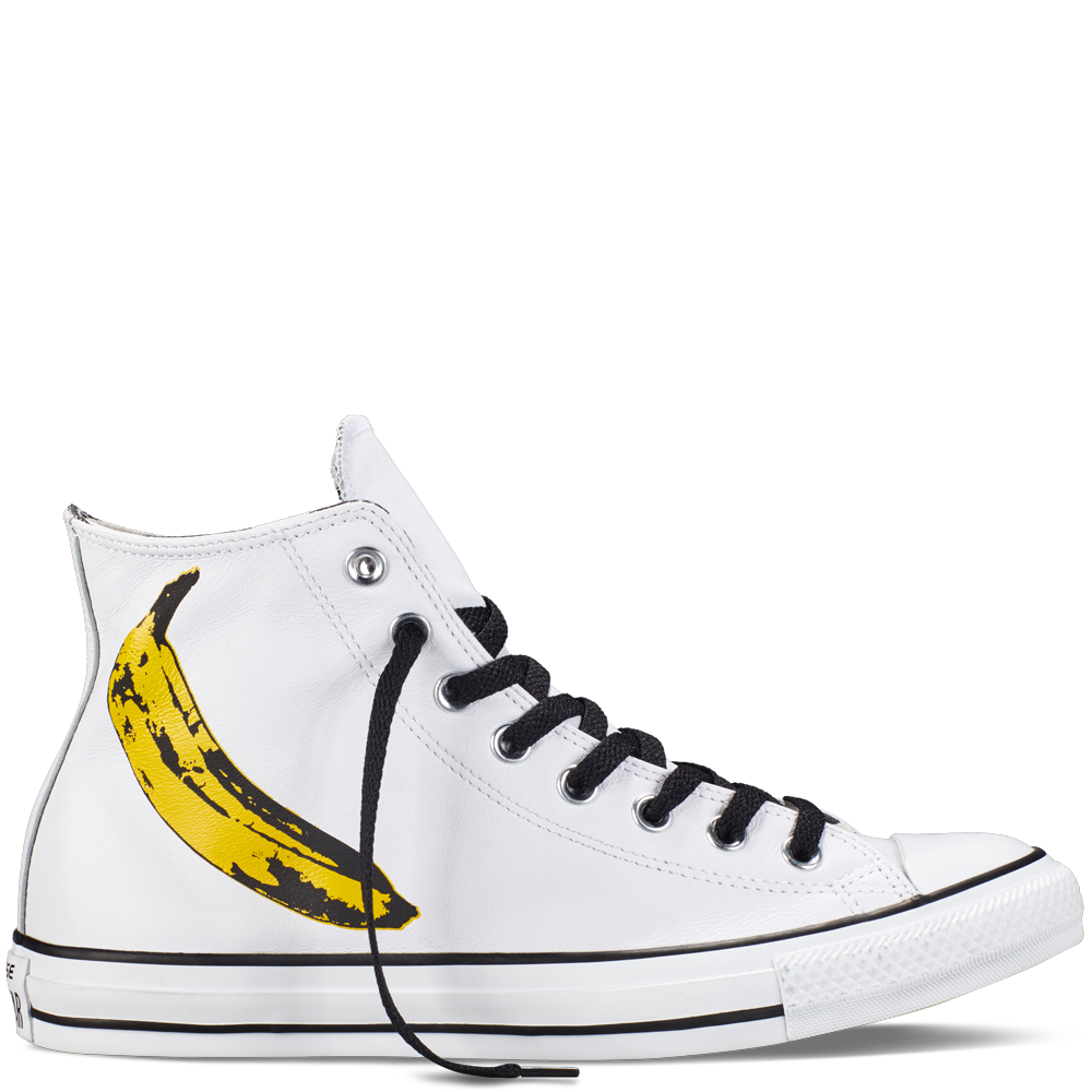 ba4d6687e489 Chuck Taylor All Star Andy Warhol White Black Freesia white black freesia