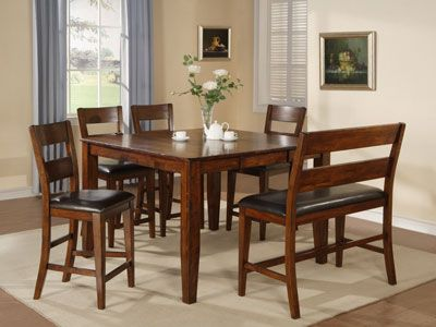 Dining Room Counter Height Sets Amber 5Pccounterheight Dining Set  New Home  Pinterest