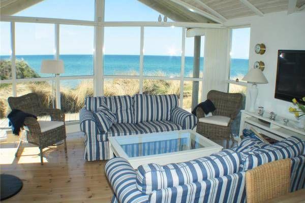 Direkte Strandlage In Erster Meereslinie Danemark Ferienhaus Danemark Danemark Urlaub Haus Am Strand