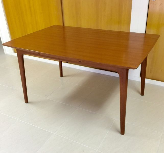 Exquisite Teak Parker Eames Era Ext Dining Table By Noblett Dining Tables Gumtree Australia Brisbane South East Rochedale Dining Table Table Furniture