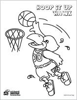 Jayhawk Coloring Sheets Embroidery Patterns Vintage Painting