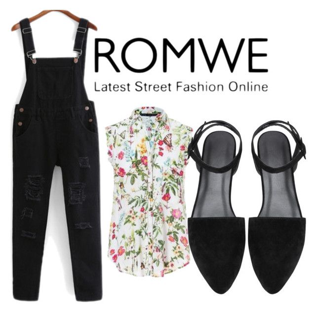 """""""Romwe"""" by amirica-20 ❤ liked on Polyvore"""