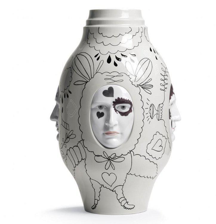 Vase Conversation - Lladro