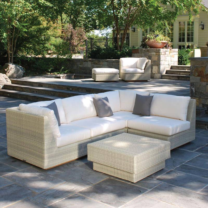 Kingsley Bate Westport 5Piece Sectional Small Outdoor