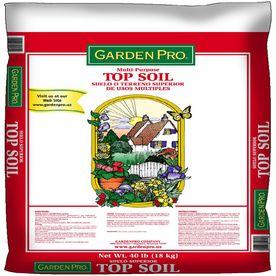 GARDEN PRO 1 Cu Ft Top Soil