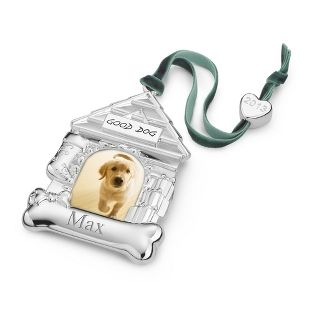 Personalized 2013 Dog House Photo Ornament , Add Your Message