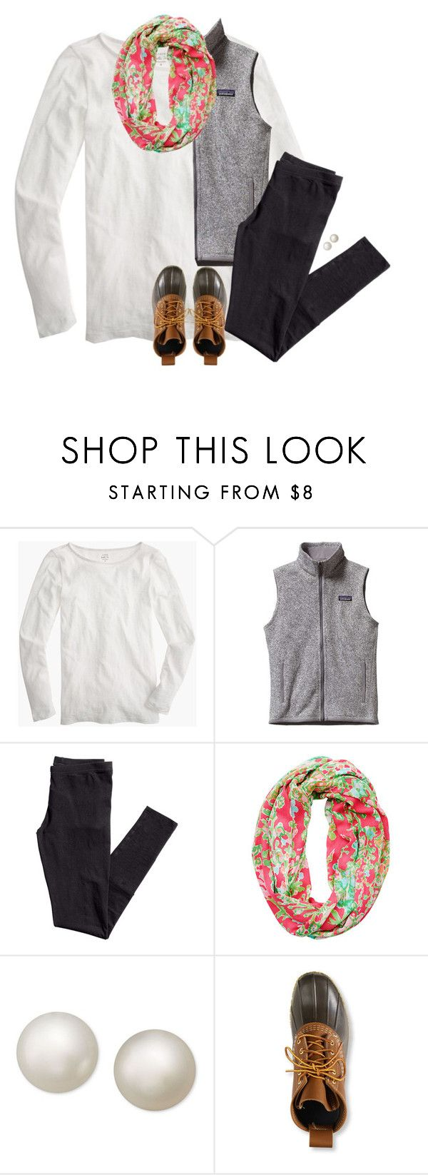 """""""I don't want a never ending life, I just want to be alive while I'm here"""" by stripedprep ❤ liked on Polyvore featuring J.Crew, Patagonia, H&M, Lilly Pulitzer, R.H. Macy's & Co. and L.L.Bean"""