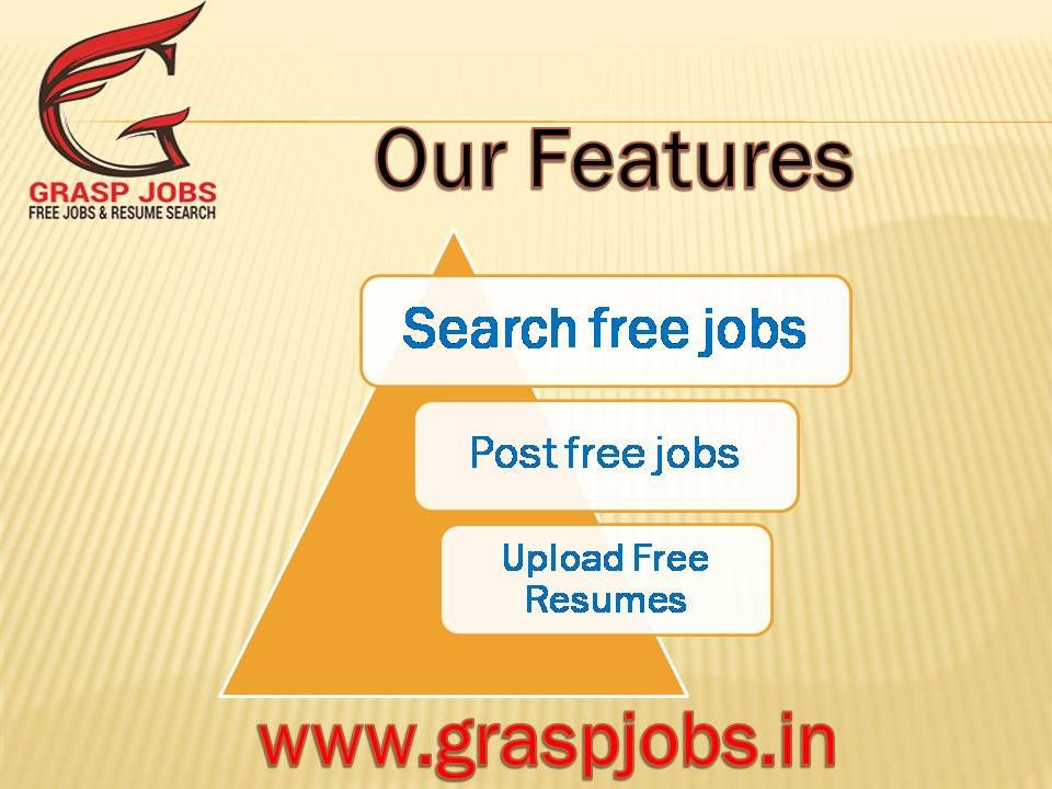Free Jobs Search Online, Job openings in India ,Free Job Posting - free resume upload
