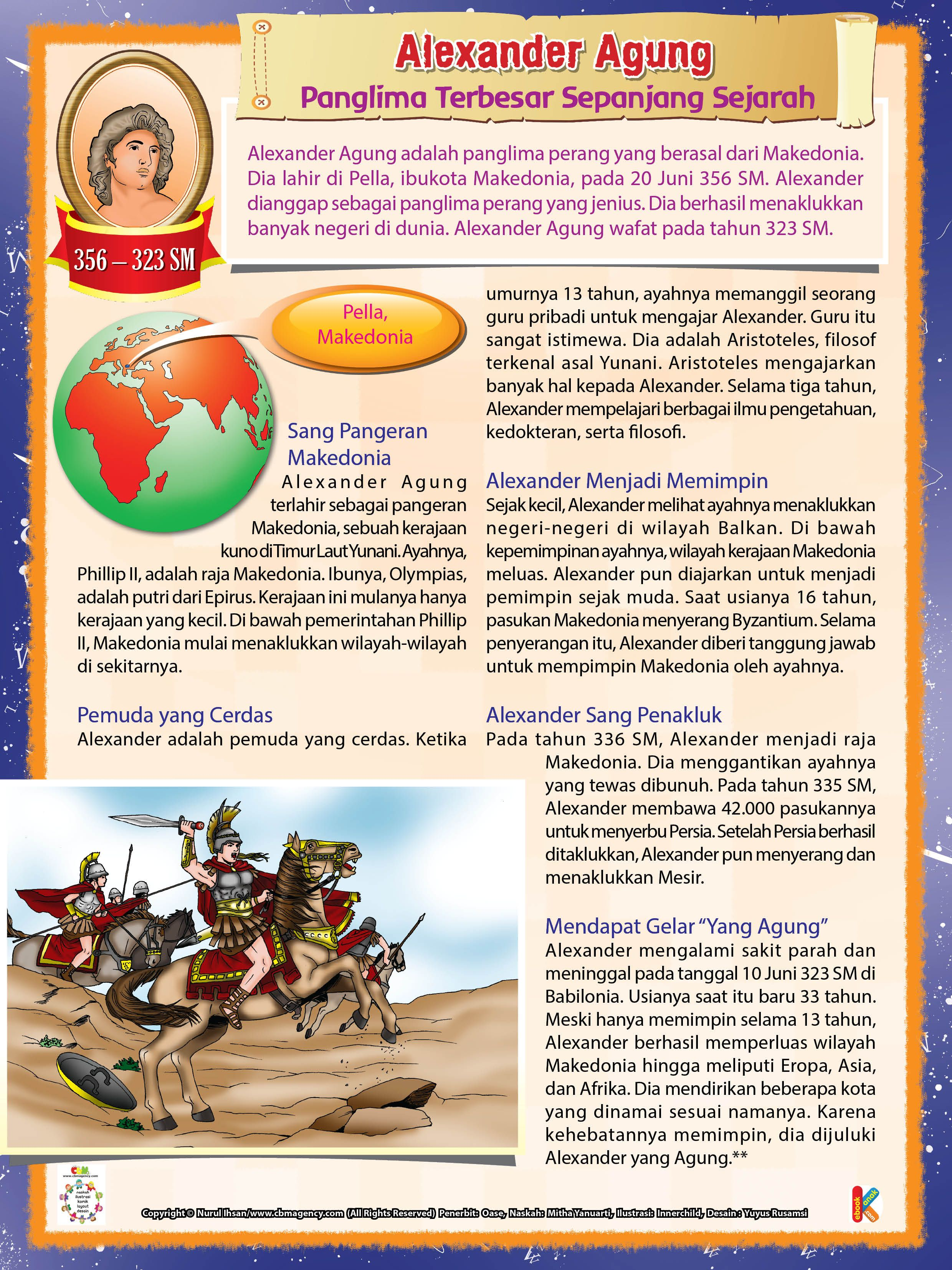 Alexander Yang Agung, Panglima Terbesar Sepanjang Sejarah