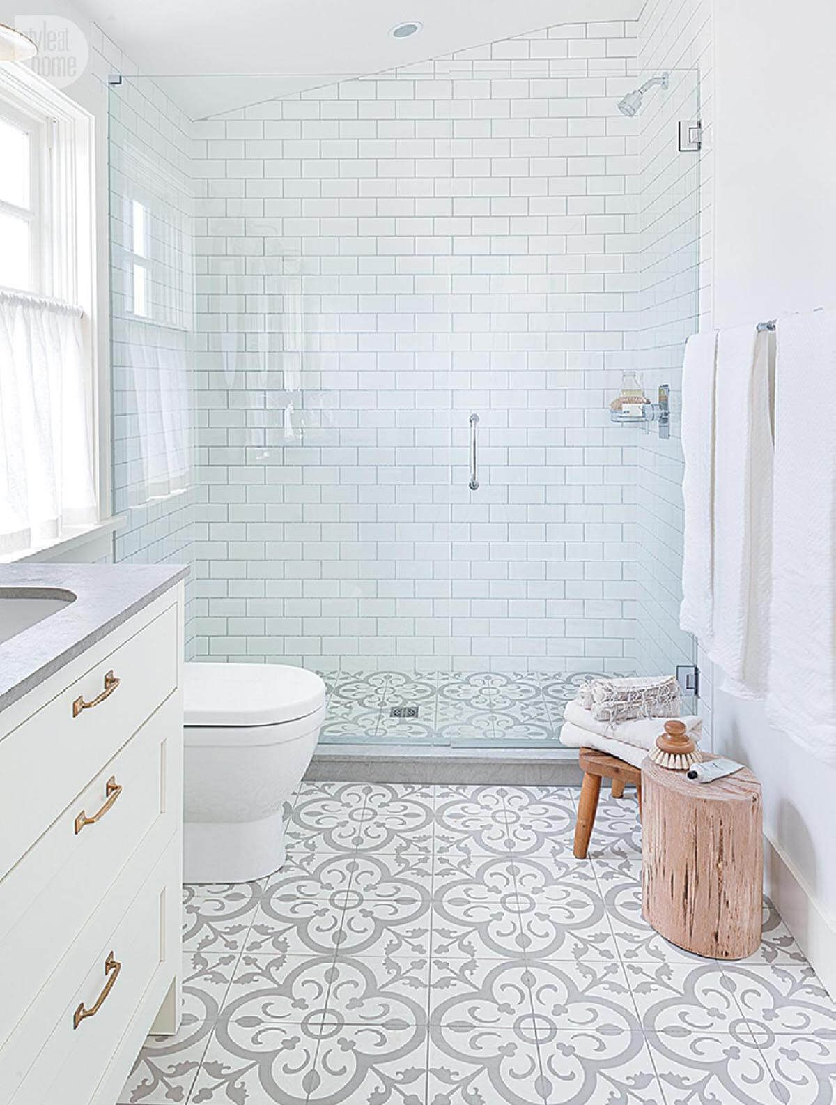 32 Best Shower Tile Ideas That Will Transform Your Bathroom Modern Farmhouse Bathroom Small Bathroom Remodel Bathroom Inspiration
