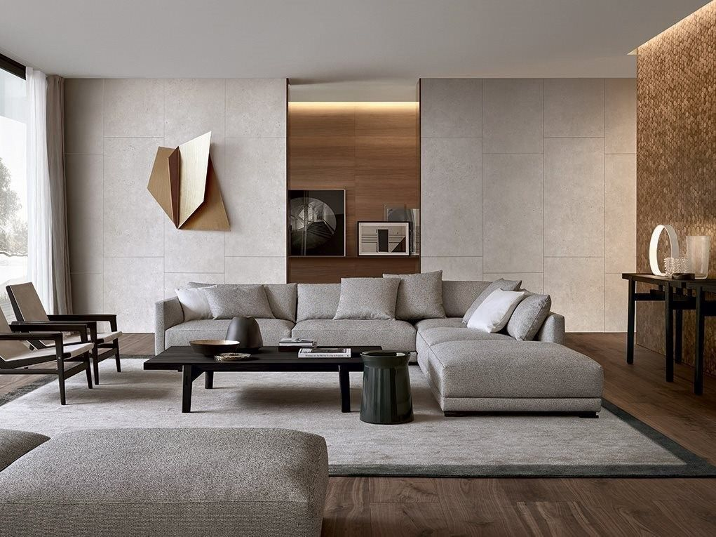 Modern Sectional Sofas With A Knack For Looking Stylish Living Room Warm Living Room Interior Living Room Design Inspiration