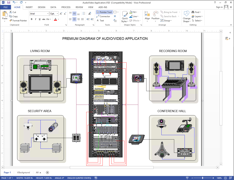 Network Wiring Diagram Software