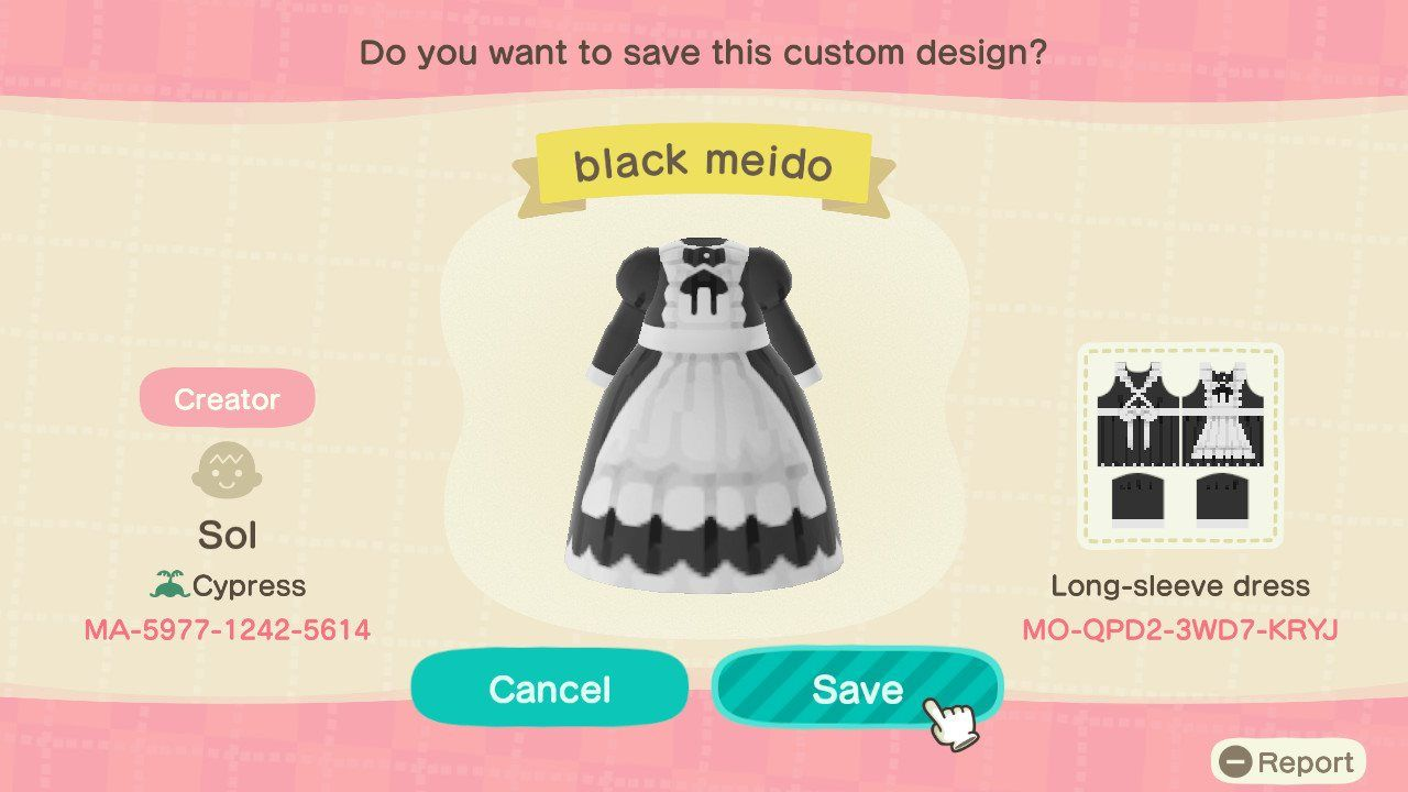 13+ Maid outfit animal crossing ideas