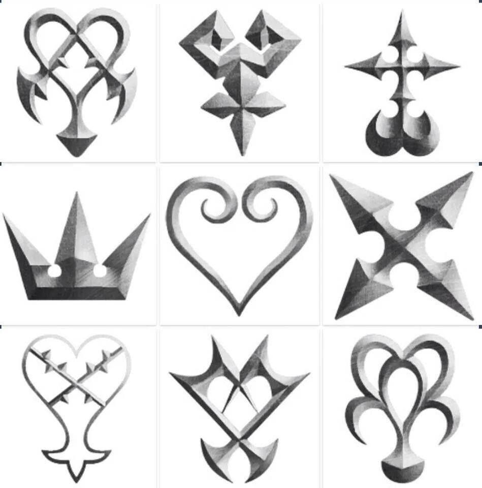 I Would Kinda Wanna Get One Of These Tattooed Kingdom Hearts 3