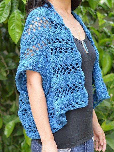 Easy Shrug Knitting Patterns in 2020   Shrug knitting ...