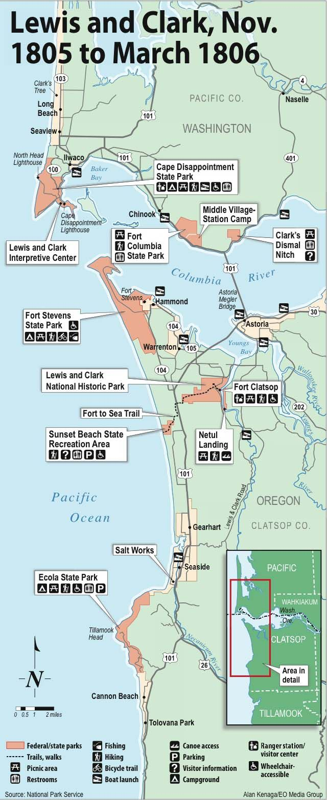 Map Of America Lewis And Clark.08 Lewis And Clark Map Oregon Lewis Clark Map Lewis Clark