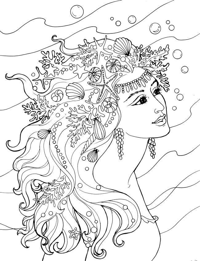 Pin de Vaczak en színező 3 | Pinterest | Colorear, Mandalas y Sirenitas
