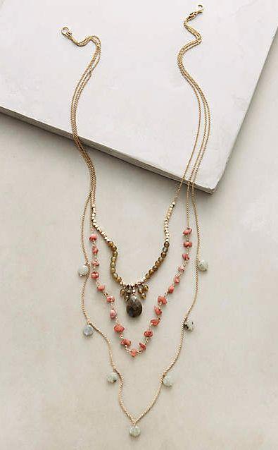Semele Layer Necklace #anthroregistry