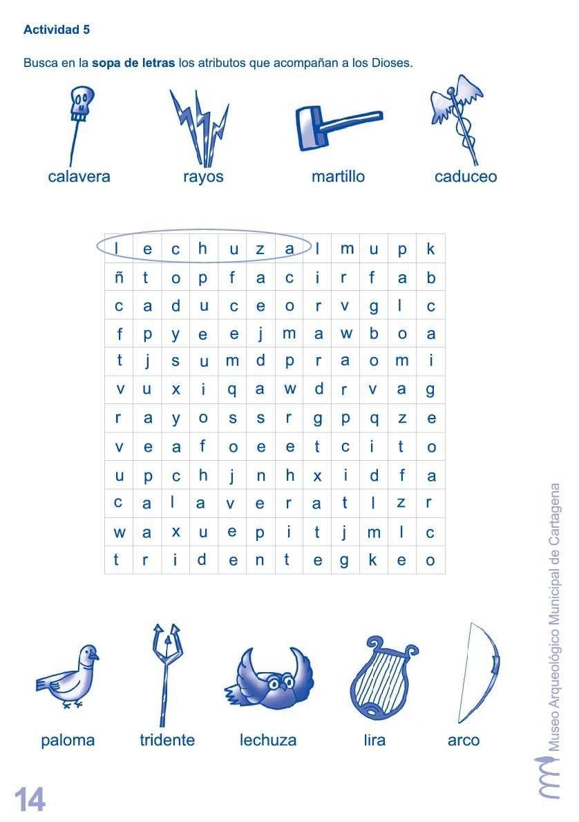 Mitologia Clasica Para Ninos Grecia Mythology Greek Y Greek