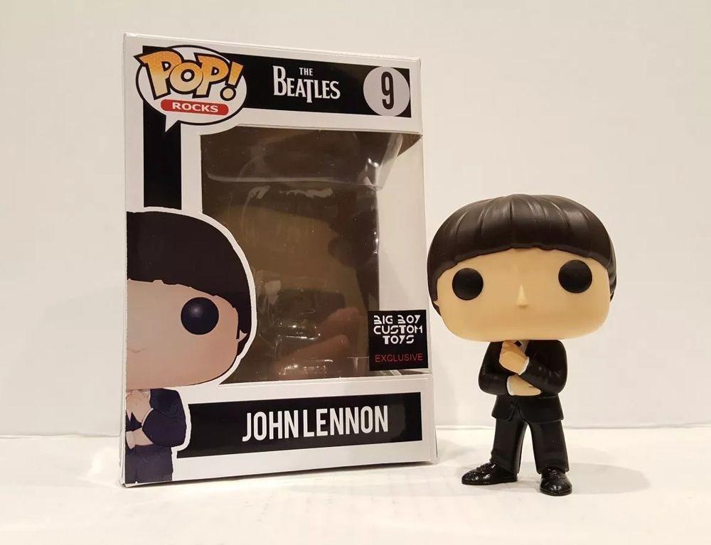 Funko Pop The Beatle John Lennon Paul McCartney George Harrison Vinyl Figure Toy