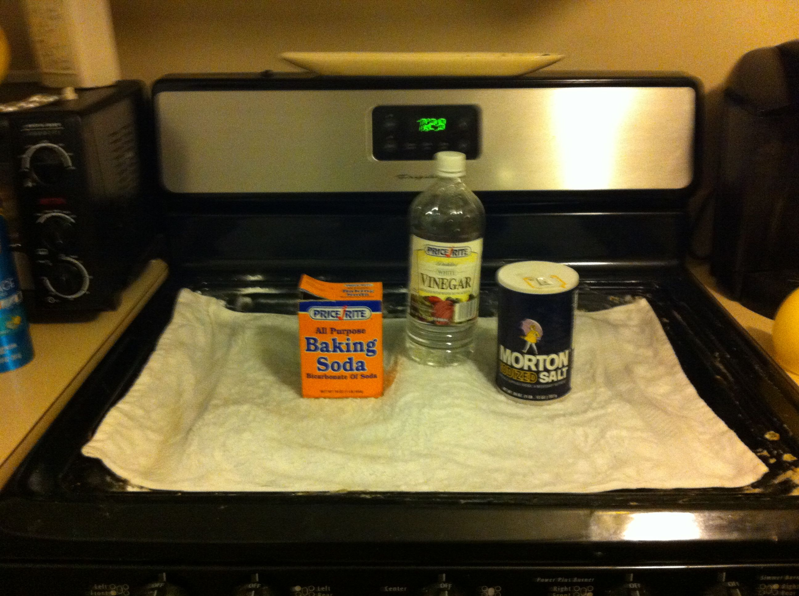 Cleaning gas stove top & burners ! Diy cleaning products