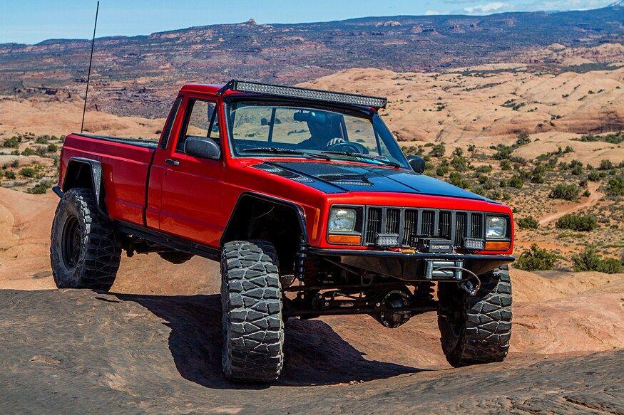 Jeep Comanche Full of Custom Tricks in 2020 Jeep