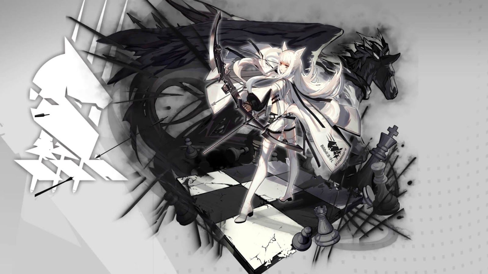 Platinum 白金 1080p 60fps Tomorrow S Ark Arknights Wallpaper Engine Anime Anime Anime Wallpaper Wallpaper