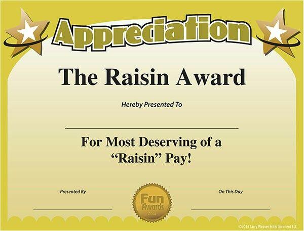 an intern superlatives employee awards award certificates free