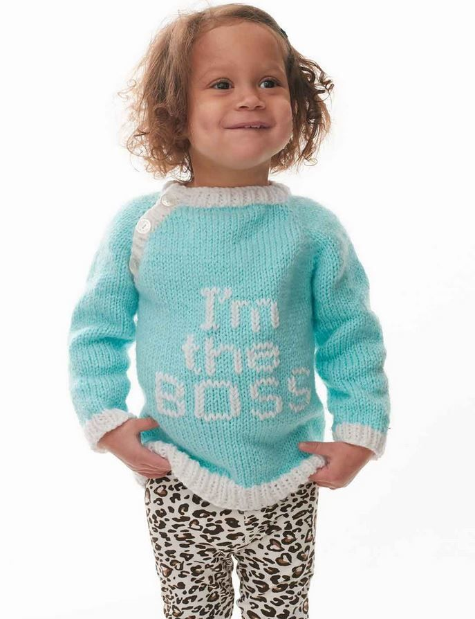 5523b9f16329 I m the Boss Baby Sweater