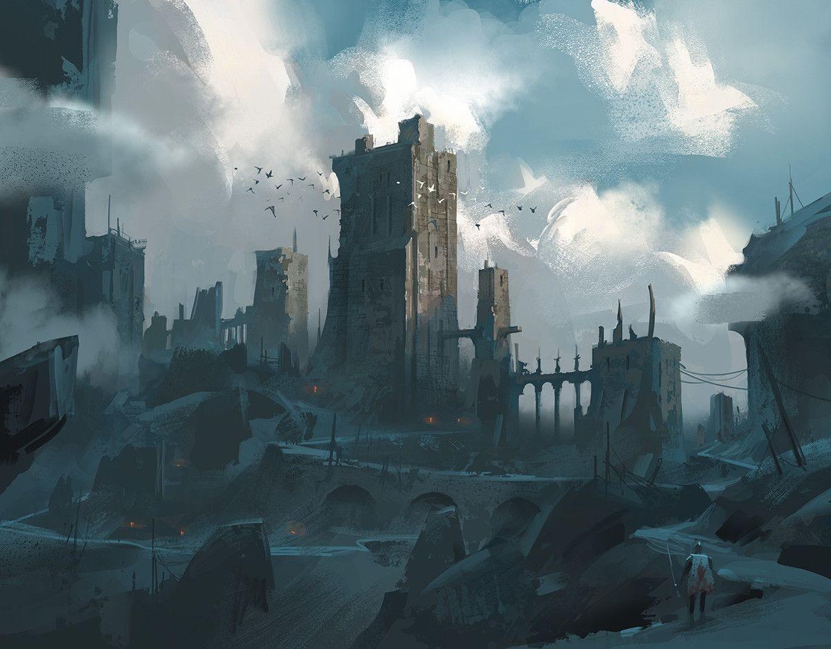ArtStation - castle, Lee b