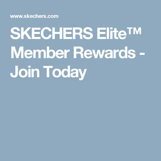 skechers elite rewards
