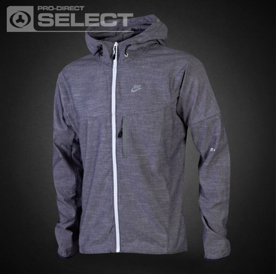 Nike Mens Clothing - Nike DWR Chambray Vapor Jacket - Nike Jacket - Mens Apparel - Midnight Navy