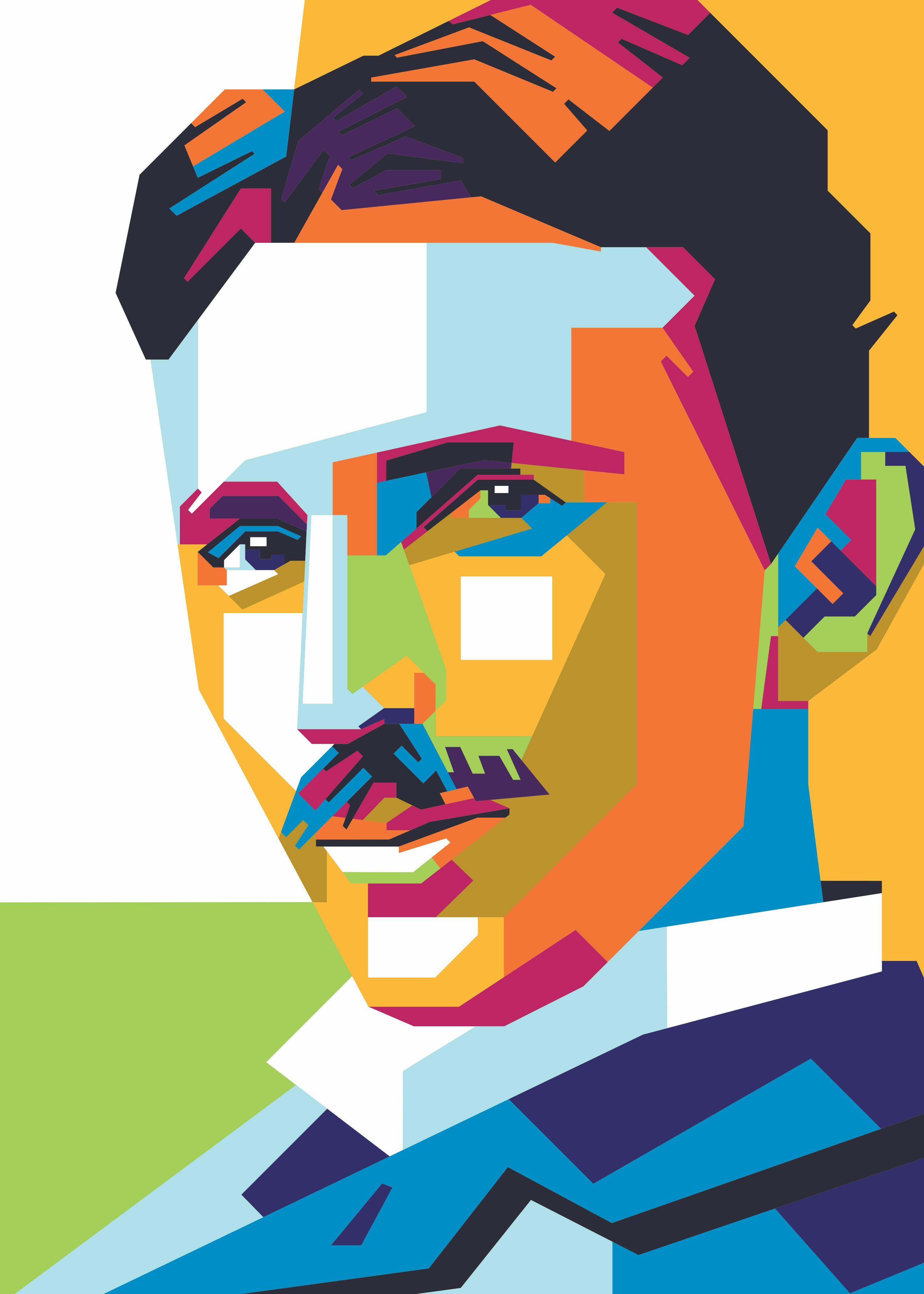 nikola tesla poster by firman alief
