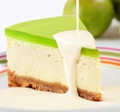 Lime Jello Cheesecake Would Like To Try Other Flavors Too Orange