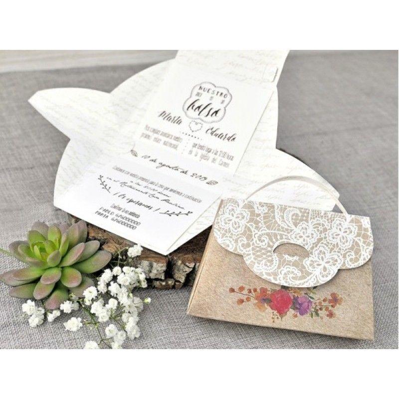 Bella Purse Wedding Invitation | Elegant Wedding Invitations ...