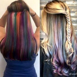 UNTERLEUCHTEN ist der neue Trend für heiße Haare!  #haare #trend #unterleuchten