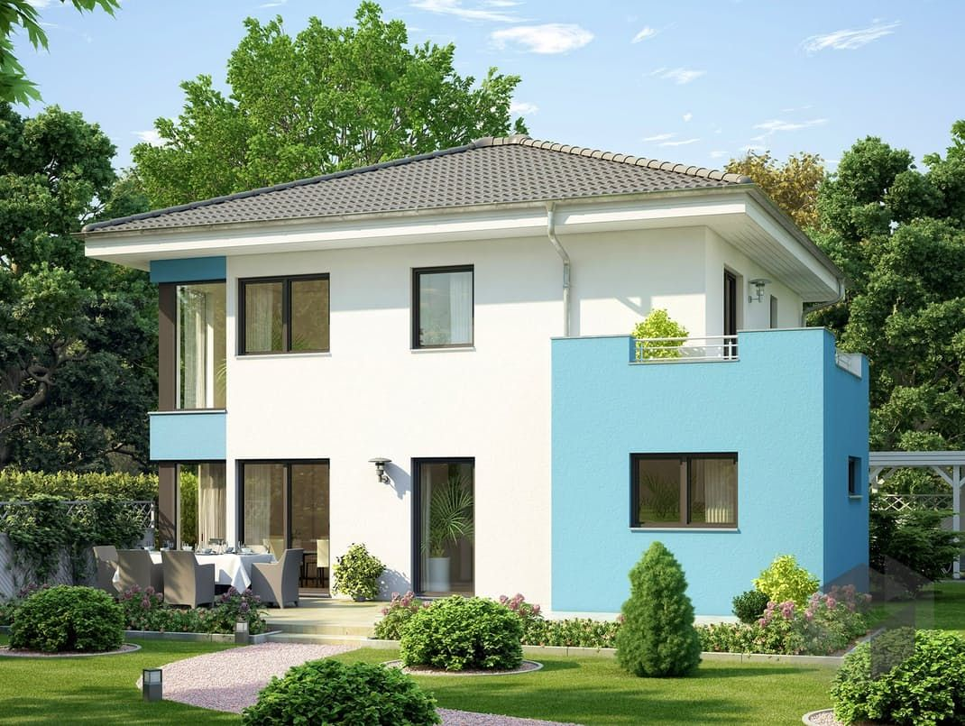 volution 136 V3 von Bien-Zenker Wohnfläche gesamt 135,22 m² ...