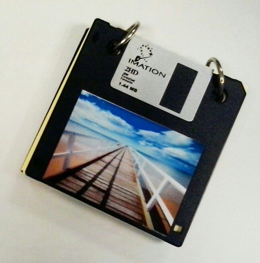 blockt de notas con diskettes antiguos