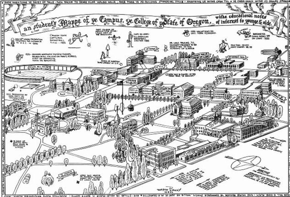 Oregon State University | Oregon state university, Campus ...