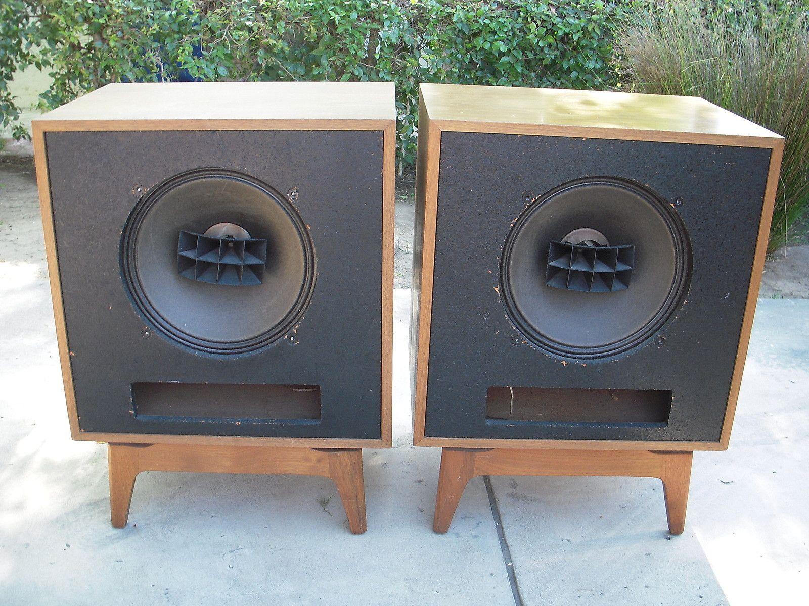 """Altec Lansing · Audiophile · Vintage Stephens Trusonic 206AXA Coaxial 15"""" Speakers Diy Speakers Horn Speakers Built In"""