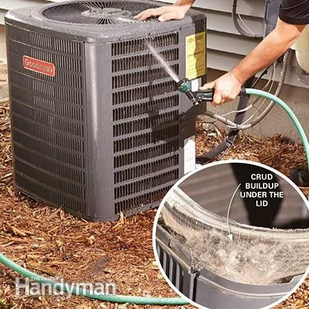 How To Fix An Air Conditioner Diy Clean