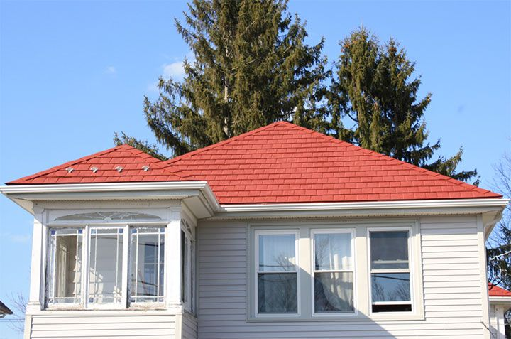 Steel Roofing Shingles In Massachusetts I Don T Know Anything About This Company Just Like The Metal Roof Idea With Images Metal Roof Colors Metal Shingle Roof