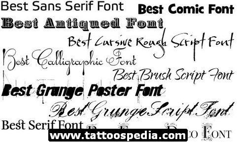 Cursive Tattoo Fonts 10 Http Tattoospedia Com Cursive Tattoo
