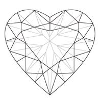 heartshapeddiamondtopviewpng 200215200 jewelry
