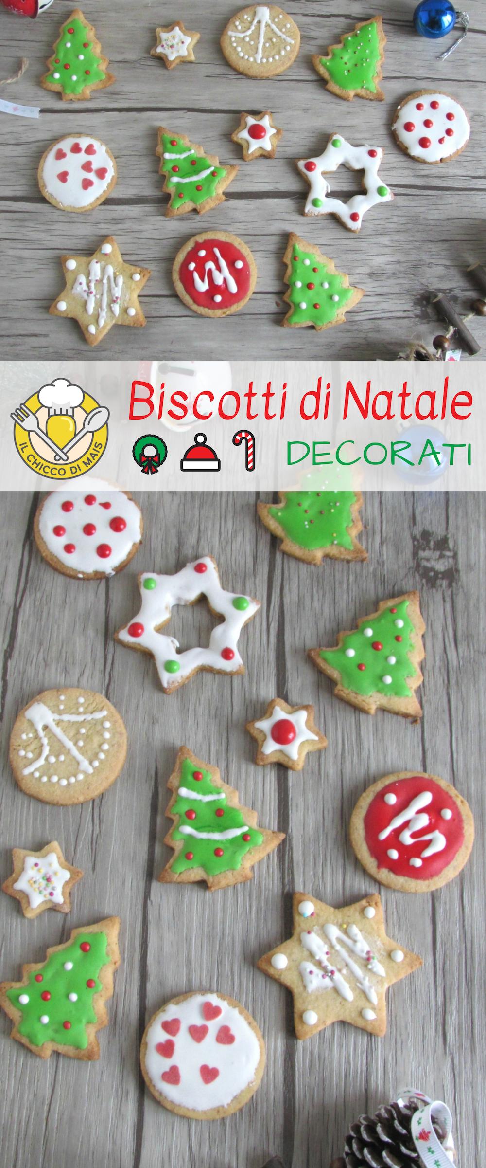 Biscotti Decorati Per Albero Di Natale.Biscotti Di Natale Decorati Con Glassa Colorata Da Appendere All
