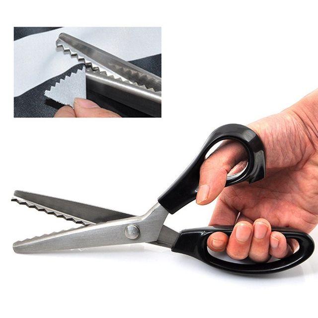 Ножницы зигзаг для ткани пробойник для бетона ручной купить