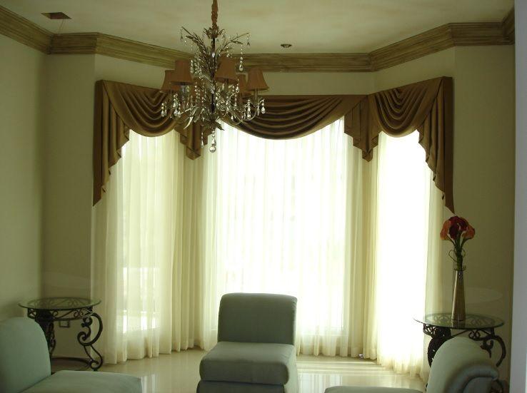 Modelos de cortina de sala Cortinas Pinterest De salas